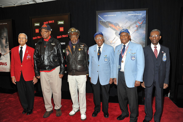 The original Tuskegee Airman