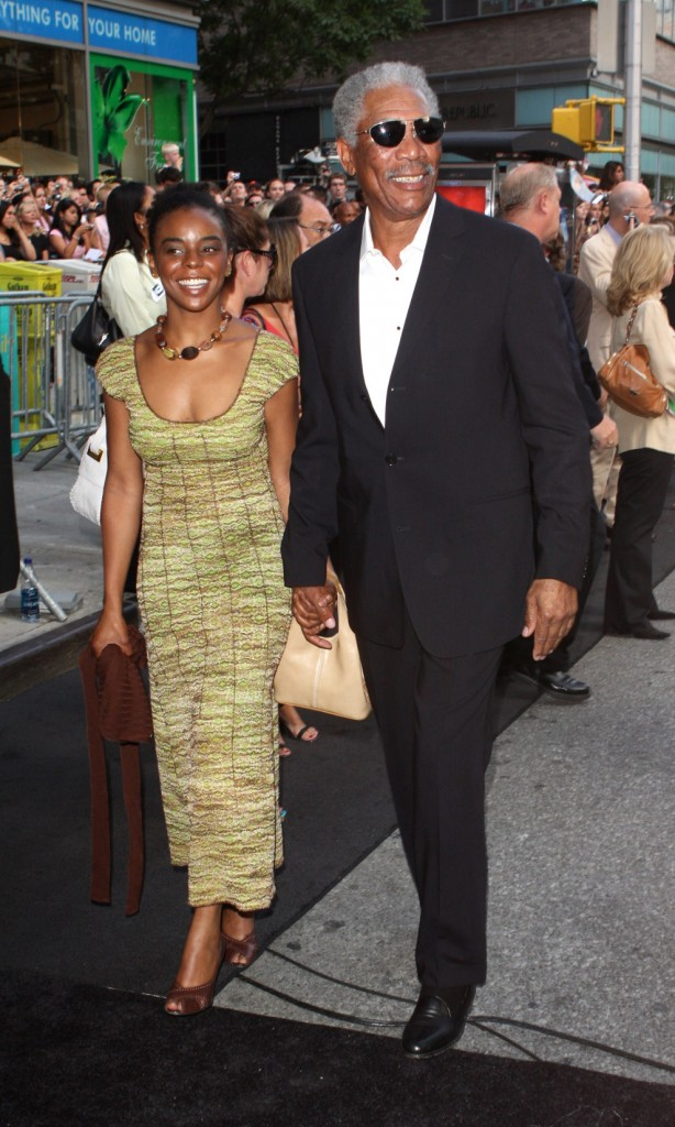 Morgan Freeman Still Marrying His Step Granddaughter