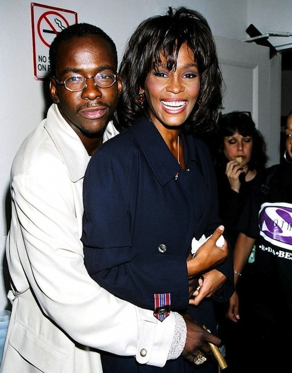 Whitney Houston And Bobby Brown Young