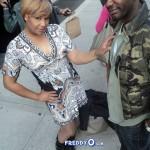 "Traci Braxton ""Shrinking""? Spotted in NYC at Chelsea Studios – The Revolution Show"