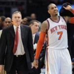 Mike D'Antoni Resigns As Coach Of The New York  Knicks : Carmelo Doesn't want To Be  Traded