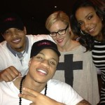 T.I., Sanaa Lathan and Rotimi Behind The Scenes of BOSS : T.I. New Music 'I Need Dollas'