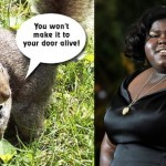 Gabourey Sidibe New TV Show and Fights Off Squirrels In Apartment