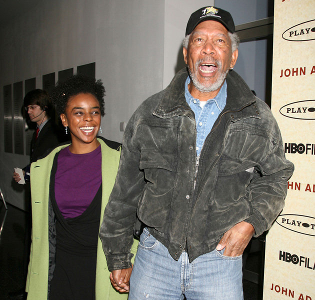Holly Celebrity Gossips: Morgan Freeman slams dating Lori Mccreary