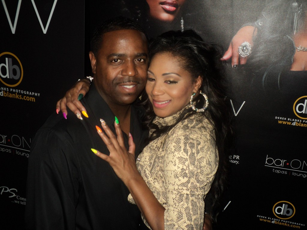 trina braxton attends swv album release party hosted by