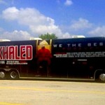 DJ Khaled's Tour Bus Goes Up In Flames