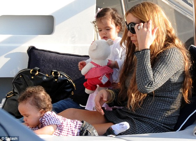 mariah and kids 1