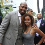 "Mari Morrow Attends Baltimore Ravens Terrell Suggs World Premier Screening of ""The Coalition"" at ABFF in Miami"