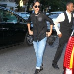 Rihanna Back At Da Silvano In NYC : Rumored Romance With New York Knicks Player JR Smith Just Fun