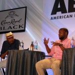 "Will Packer and Rob Hardy at ABFF – Miami ""Think Like a Man"" Crown Royal Panel Party"