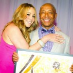 Mariah Carey and Russell Simmons, Art For Life Charity Event