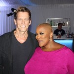 Frenchie Davis and Kevin Bacon