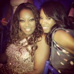 Star Jones and June Ambrose
