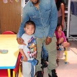 Kim Kardashian And Kanye West Visit Children's Hospital In Los Angeles