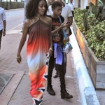 Jada Pinkett Smith Speaks Out Against Human Trafficking : Spotted In LA With Willow