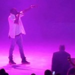 VIDEO : Kanye West Serenades Kim Kardashian During A Concert