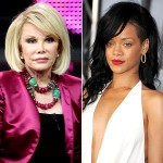 Joan Rivers Twitter Beef With Rihanna Over Chris Brown