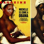 Spanish Magazine Depicts Michelle Obama as a Slave on Cover