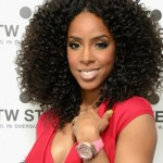 Kelly Rowland Celebrates TW Steel Watch Launch w/ Celeb Friends