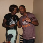 """VH1 Love and Hip Hop's Stevie J and Singer """"Estelle"""" Attend Grey Goose Cherry Noir Private Dinner Hosted by Jason Geter"""