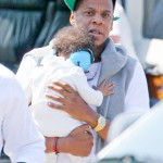 Jay-Z and Baby Blue Ivy Spend Daddy/Daughter Time