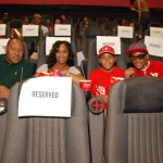 Frank Ski and family at the HT screening - 9.23.12