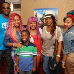 OMG Girlz - Q Parker and family at HT Screening 9.23.12
