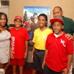 Tanya Ski, sons, Frank Ski at HT Screening 9.23.12