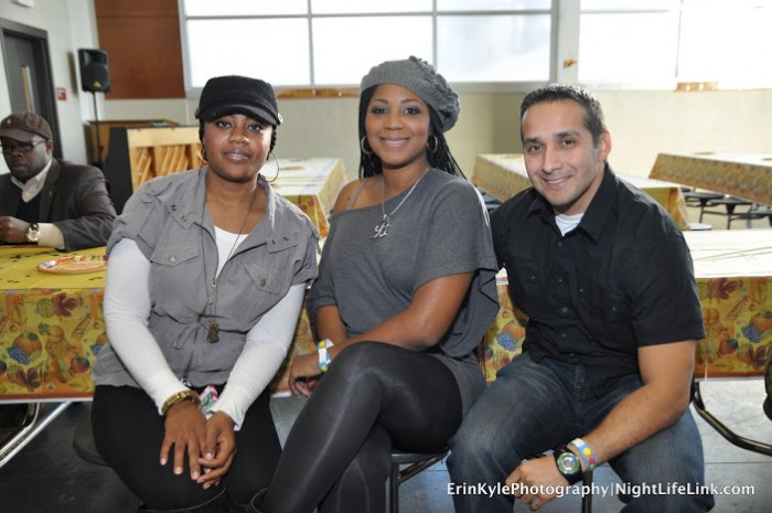 Guest with Trina Braxton-Gabe Solis