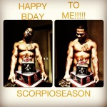 Nelly Gets Naked For Scorpio Season Birthday
