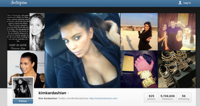 Screen Shot 2012 12 21 at 4.06.32 PM Kim Kardashian Threatening To Terminate her Instagram Account
