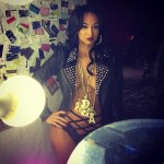 Draya Shows Off Bare Chest & Tattoos For 'Urban Ink' Magazine