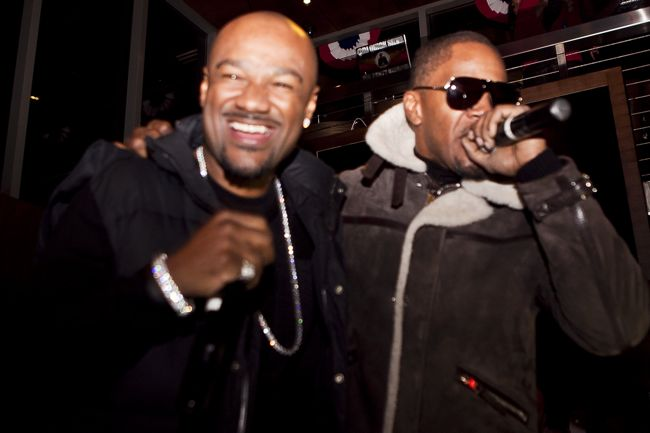 Big Tigger and Jamie Foxx