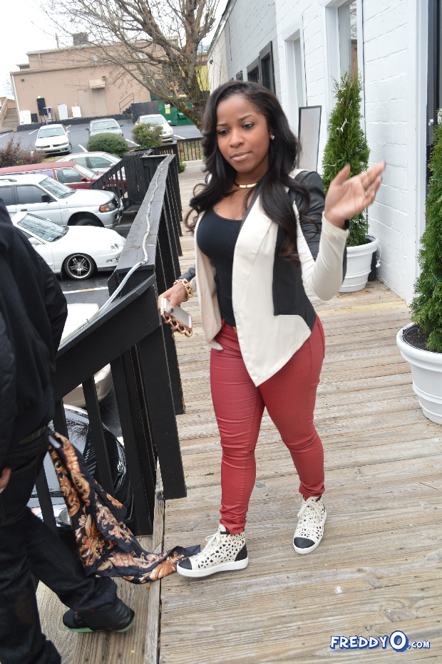 Photos: Toya Wright & Hubby Memphitz Out And About ... K Michelle And Rasheeda 2013