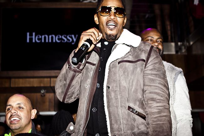 Jamie Foxx on stage