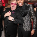 Photos: Elton John & Vanity Fair Oscar After Parties With Chris Brown, Nicki Minaj, Kim Kardashian & More