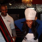 Photos: Former RHOA Sheree Whitfield Joins Fan Fave Chef Rob In The Kitchen