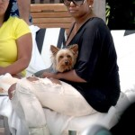 Nene Leakes Out In Beverly Hills & Locks Doggy In Car