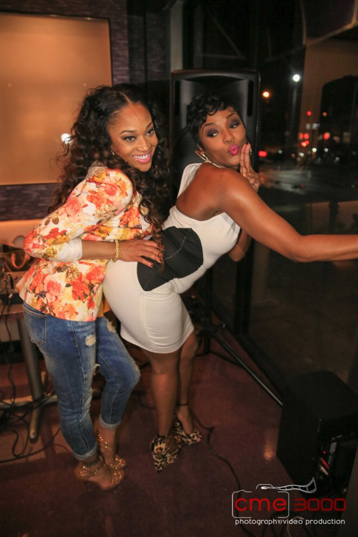 Her Love and Hip Hop Atlanta co-star/BFF Mimi was there and they had a