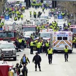 Explosions rock finish of Boston Marathon; 2 killed and dozens hurt