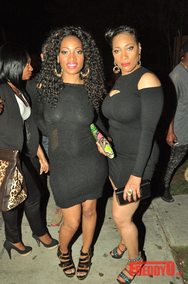 Freddy O Exclusives: Erica Dixon and Mother &amp; Shay &quot;Buckeey&quot; Johnson Sightings