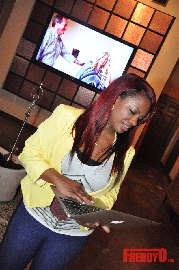 Photos Kandi Burruss speaks on Kim Zolciak Beef and Reveals the Kandi Factory