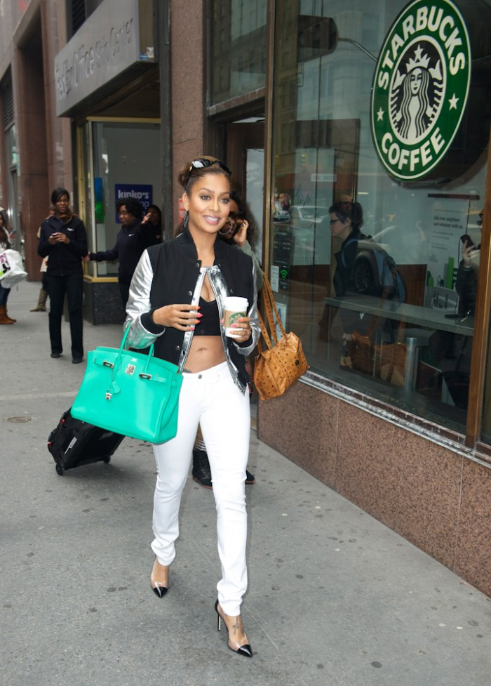 Lala Anthony in New York City