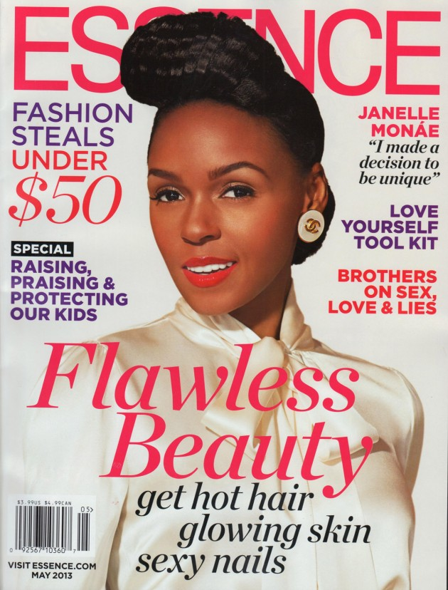 Janelle Monae - Essence - May 2013 - Cover