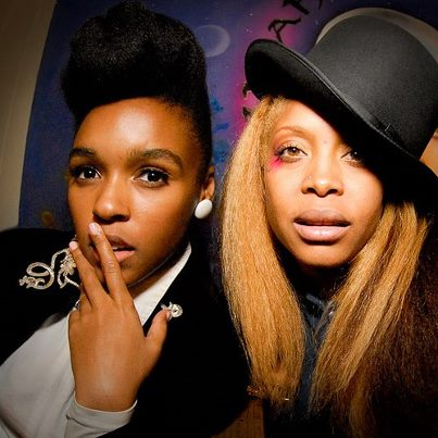 "Janelle Monáe set to premiere ""Q.U.E.E.N.,featuring Erykah Badu on Monday, April 22, 2013 at 7:54 pm EST via www.JanelleMonae.com"