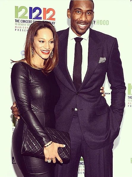 Amar'e Stoudemire Welcomes a New Baby Boy