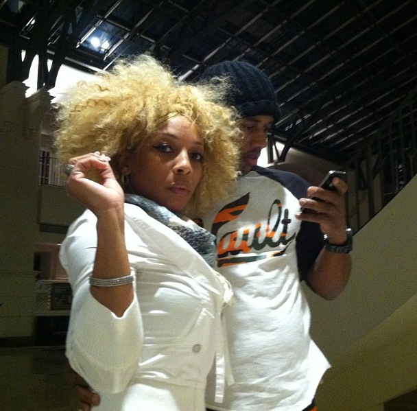 Mimi Faust Shows Off Boyfriend  Stevie J Says He   s a Stunt Double    Mimi Faust And Nikko 2013
