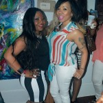 PHOTOS Shekinah's Surprise ALL WHITE Birthday Party at The Art of Giving Gallery with Tiny and Josh Smith