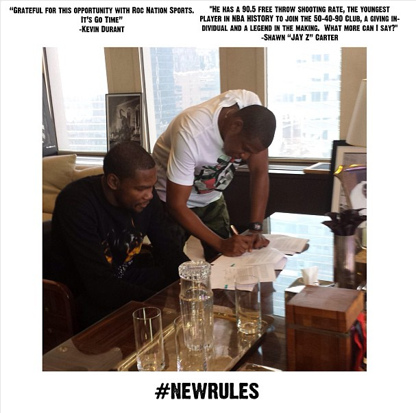 jay-z-signs-kevin-durant-to-roc-nation-sports-freddy-o
