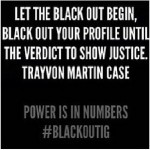 Kevin Hart, Meek Mill, Megan Good and Other Celebrities Participate in #BLACKOUTIG, A Show of Support for Trayvon Martin